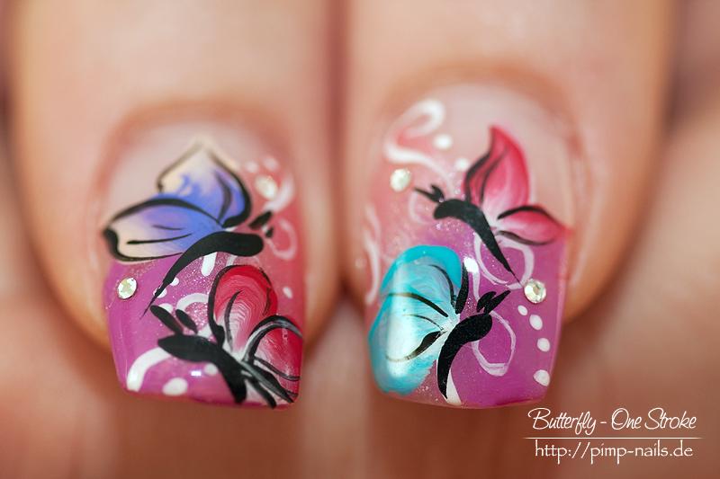 Nail Art Butterfly2