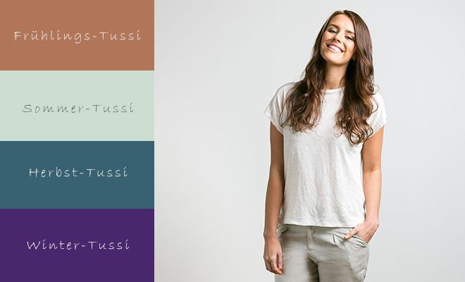 """Tussi Vier Jahreszeiten"""" – Welcher Farbtyp bist Du?"""