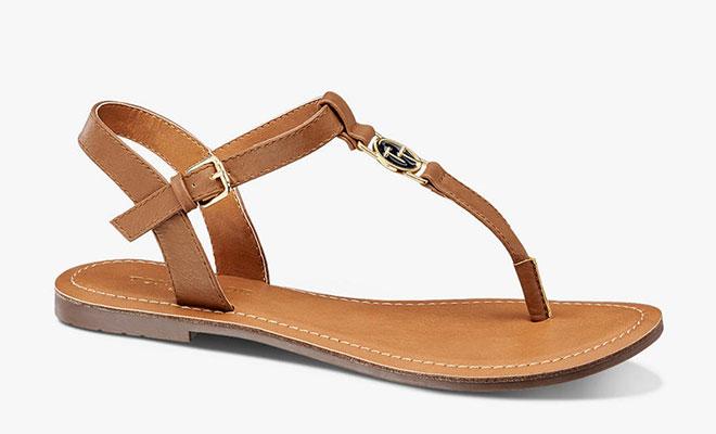 Sandale im Boho Look